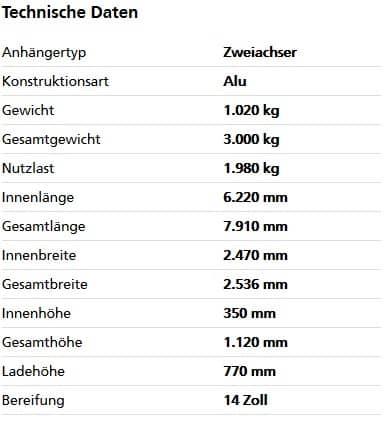 HT 30 62 25 GR Tandem-Hochlader 1