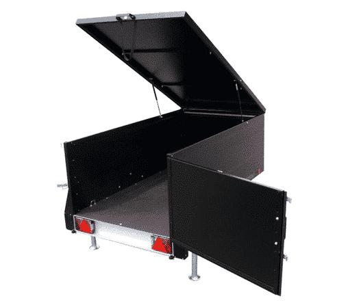 Kofferanhänger | KT-EU2 & KT-EU3 TBV, spritzwassergeschützter Deckel mit Stoßdämpfern 4