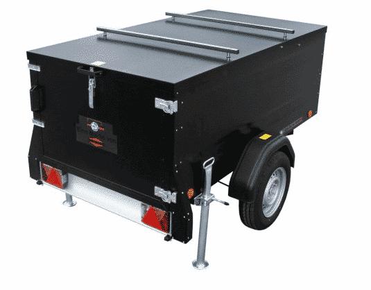 Kofferanhänger | KT-EU2 & KT-EU3 TBV, spritzwassergeschützter Deckel mit Stoßdämpfern 3