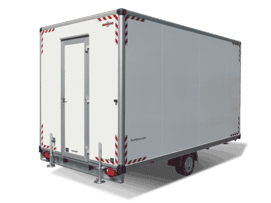 Bauwagen Kofferanhänger