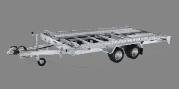 FTK 204020 Fahrzeugtransporter kippbar Tandem