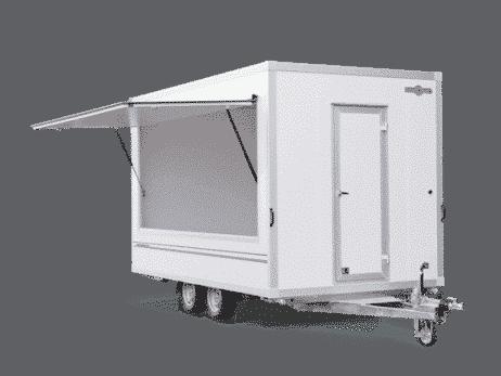 Verkaufsanhänger Leerwagen 2 Achser