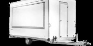 Verkaufsanhänger Leerwagen