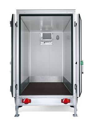 Kühlkoffer, Getränke und Lebensmittelkühler, Mietanhänger 3