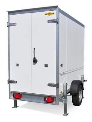 Kühlkoffer Mietanhänger