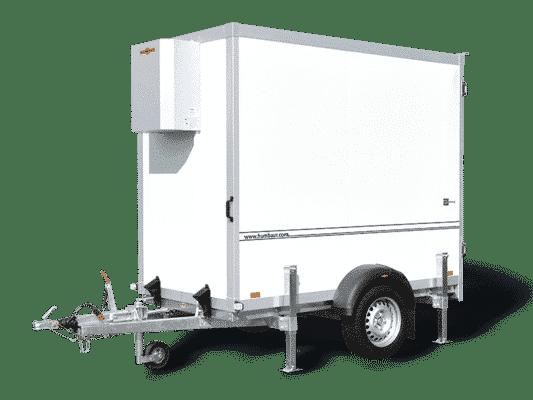 Kühlkoffer, Getränke und Lebensmittelkühler, Mietanhänger 2