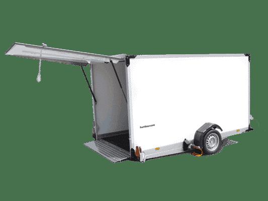 HKT 752515-18P bis  HKT 183117-18P  / Einachser Plywood, Räder außen, absenkbar 1