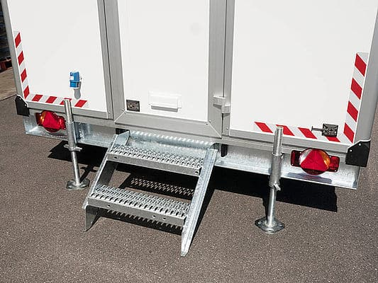 Bauwagen, Baucontainer, Container, mobiles Büro, Bürocontainer 2
