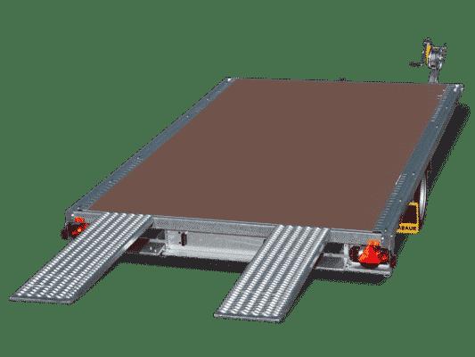 Humbaur MTK, Autotransporter, Anhänger zur Miete 1