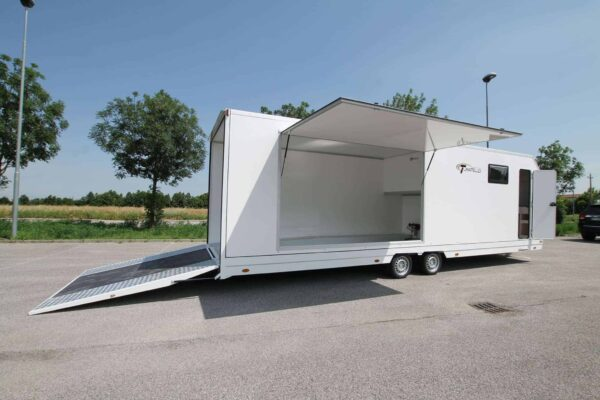 Turatello F35 Living Autotransporter inkl. Wohnbereich (9.5 P4) 5