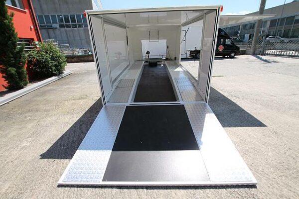 Turatello F26 Autotransporter, Fahrzeugtransporter, Rennwagentransporter, Motorsportanhänger 4