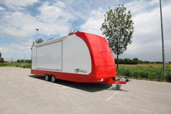 Turatello F35 2 Cars XL Autotransporter für 2 Autos 4
