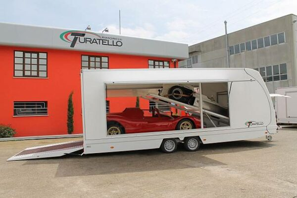 Turatello F35 2 Cars XL Autotransporter für 2 Autos 8