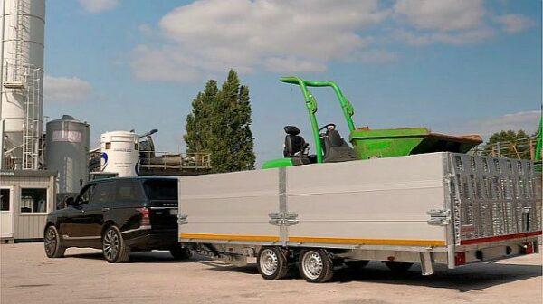 Eduard Maschinentransporter mit Kippsystem 3