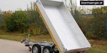 Rückwärtskipper aluminium