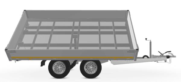 Eduard Dreiseitenkipper Alu, mit E-Pumpe, 3000 kg, 330x180x30 10