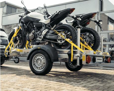 HM 10 21 13 Motorradtransporter für 3 Motorräder 2