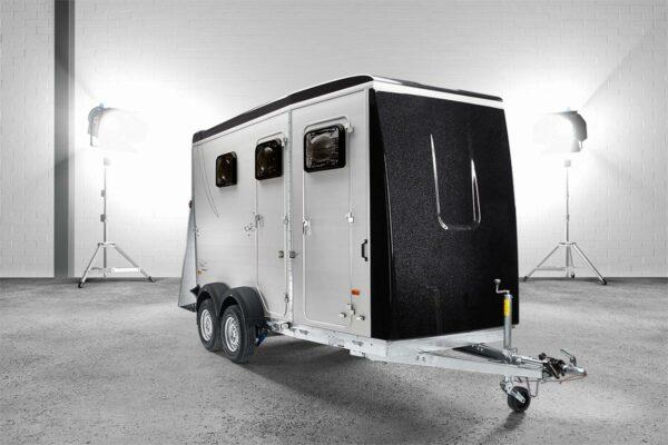 Humbaur Notos Plus 3000 kg oder 3500 kg Pferdeanhänger mit Sattelkammer, Pferdetransporter 4