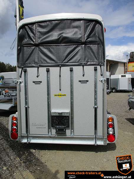 Check Humbaur Maximus Deluxe, Pferdeanhänger, Viehtransporter 2700, 3,56 x 1,80 x 2,35 m, 2700 kg 9