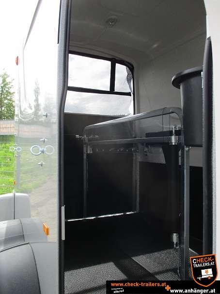 Check Humbaur Maximus Deluxe, Pferdeanhänger, Viehtransporter 2700, 3,56 x 1,80 x 2,35 m, 2700 kg 8