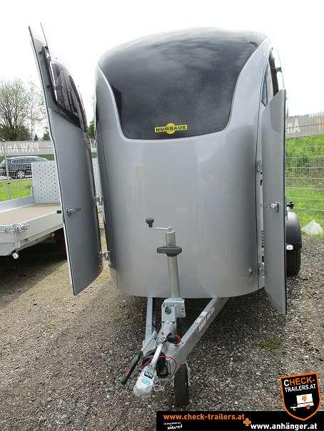 Check Humbaur Maximus Deluxe, Pferdeanhänger, Viehtransporter 2700, 3,56 x 1,80 x 2,35 m, 2700 kg 7