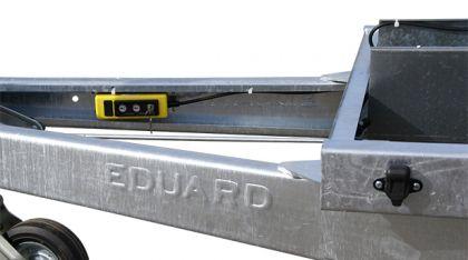 Rückwärtskipper einzigartiges Sondermodell von Eduard, Gewerberückwärtskipper, 310 x 180 cm, 3500 kg, Check Trailer, mit Elektropumpe 10