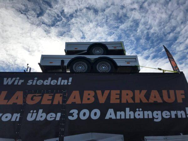 ANGEBOT DES MONATS: Humbaur Einachsanhänger HA132513, 251 x 131 cm, 1300 kg, mit Klappwand, Bankeinzug unbenützt, mit Werksgarantie, nur 3 Stück verfügbar, Check Trailer 2