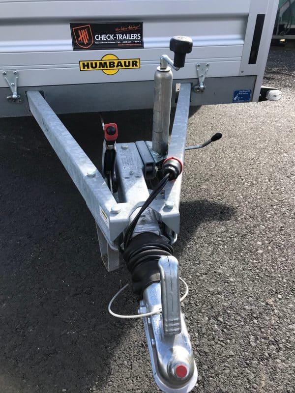 ANGEBOT DES MONATS: Humbaur Einachsanhänger HA132513, 251 x 131 cm, 1300 kg, mit Klappwand, Bankeinzug unbenützt, mit Werksgarantie, nur 3 Stück verfügbar, Check Trailer 12