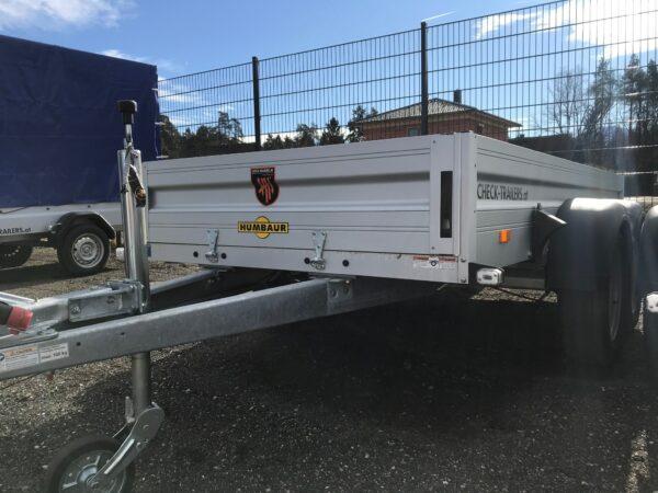 Aktions-Anhänger Humbaur Doppelachsanhänger, HA 253015, 303 x 150 cm, 2500 kg, Lagerabverkaufsangebot!, Check Trailer 8