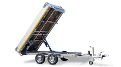 Rückwärtskipper einzigartiges Sondermodell von Eduard, Gewerberückwärtskipper, 310 x 180 cm, 3500 kg, Check Trailer 1
