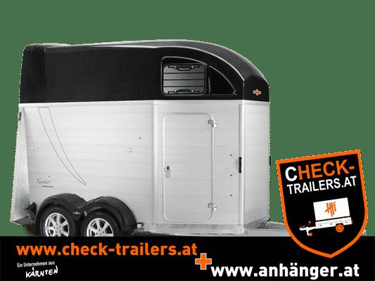 Pferdeanhänger Humbaur Xanthos 2000 kg mit Aluminium Seitenwänden 1