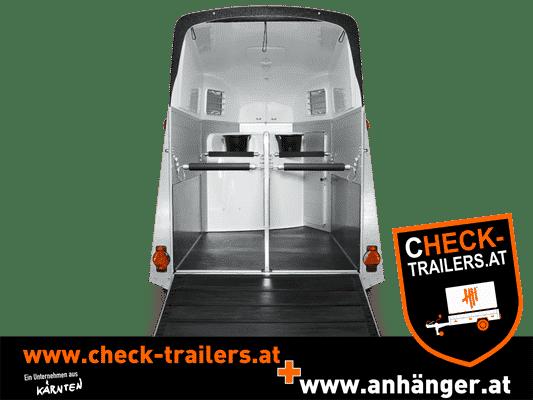 Pferdeanhänger Humbaur Xanthos 2000 kg mit Aluminium Seitenwänden 5