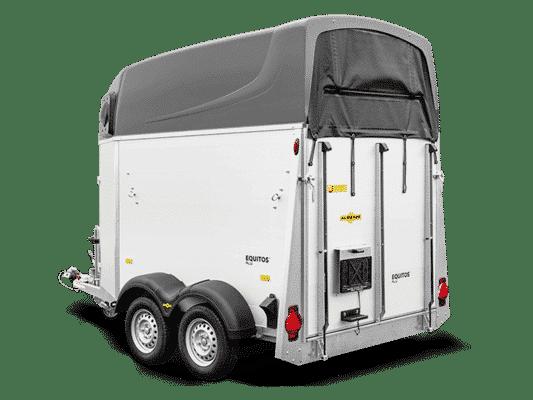 SONDERANGEBOT Humbaur Equitos Alu PLUS 2000, Pferdeanhänger, Check Trailer, Anhänger für 2 Pferde, weitere Variante mit 2400 kg erhältlich 4