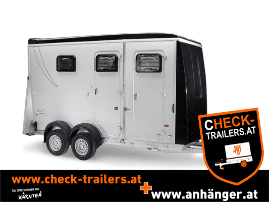 Humbaur Notos Plus 3000 kg oder 3500 kg Pferdeanhänger mit Sattelkammer, Pferdetransporter 12