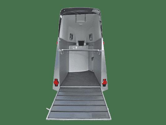 Pferdeanhänger Check Humbaur 1600Single ALU SK Mit Alu Bicomp Boden und Gummimatte verklebt und versiegelt, Paniksystem ect. 4