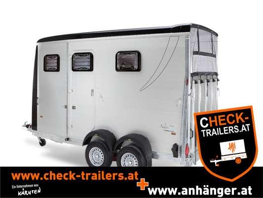 Pferdeanhänger CHECK Humbaur Notos Tria 3500 kg, Tandemanhänger, Pferdehänger für 2 Pferde 6