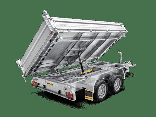 Humbaur Dreiseitenkipper, 3S-Kipper, HTK 3000.37 & 3500.37, 3000 kg-3500 kg, Doppelachsanhänger, Kippanhänger, Check Trailer 3