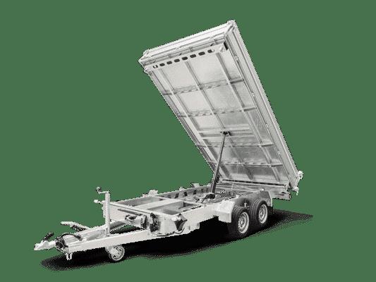 Humbaur Dreiseitenkipper, 3S-Kipper, HTK 3500.41, 3500 kg, Doppelachsanhänger, Kippanhänger 4