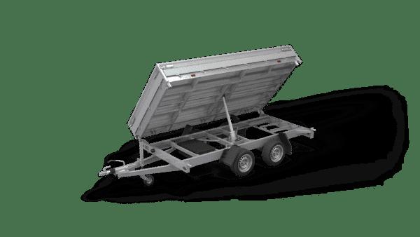 Hapert Dreiseitenkipper Cobalt HM-2 Ferro, 3500 kg, Kipper von Hapert, Kippanhänger, Check Trailers 1