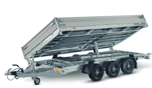Hapert Dreiseitenkipper Cobalt HM-2 Ferro, 3500 kg, Kipper von Hapert, Kippanhänger, Check Trailers 7