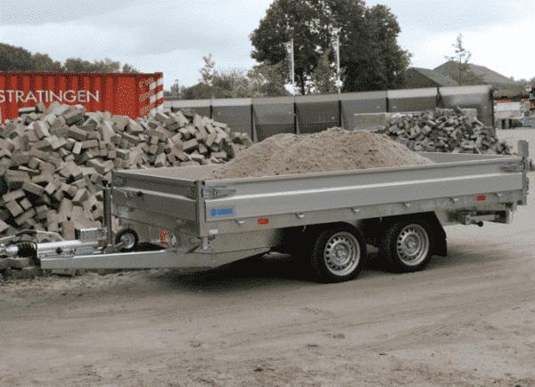 Hapert Dreiseitenkipper Cobalt HM-2 Ferro, 3500 kg, Kipper von Hapert, Kippanhänger, Check Trailers 8
