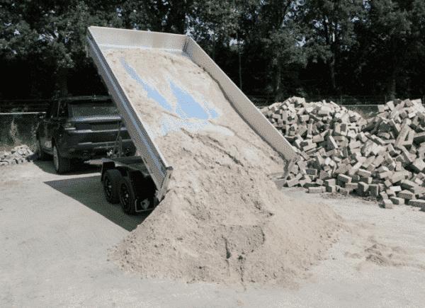 Hapert Dreiseitenkipper Cobalt HM-2 Ferro, 3500 kg, Kipper von Hapert, Kippanhänger, Check Trailers 10