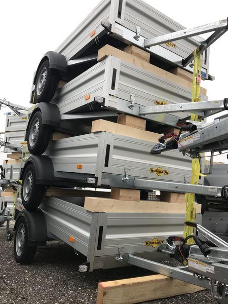 Inventurabverkauf, Humbaur Anhänger zum Sonderpreis, HA 752513 und HA 752111 Alu, Einachs-Tieflader, ungebremst, Einachsanhänger Aluminium, Sonderangebot, nur begrenzte Stückzahl erhältlich 5