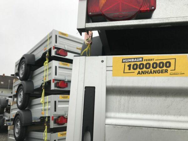 Inventurabverkauf, Humbaur Anhänger zum Sonderpreis, HA 752513 und HA 752111 Alu, Einachs-Tieflader, ungebremst, Einachsanhänger Aluminium, Sonderangebot, nur begrenzte Stückzahl erhältlich 7
