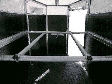 Viehanhänger von Geschützte Werkstätte, GW-Viehanhänger gebremst, Großviehanhänger GVT 285/160 GT, Viehtransporter, 2700 kg 3