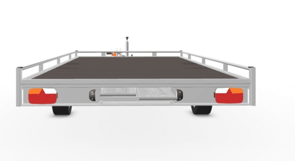 Anhänger Hochlader Autotransporter Eduard 406 x 200 Doppelachs mit Reling Gewicht 3500 kg gebremst inkl. Rampen und Rampenschacht sowie Seilwinde, weitere Varianten 7