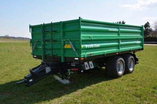 Traktoranhänger, WÖZ Anhänger, A90, 9000 kg Gesamtgewicht, starker Tandem-Dreiseitenkipper, 3S-Kipper, diverse Modelle, Zweiachser, Kipper, Kippanhänger für Traktoren, diverse Ausführungen 2