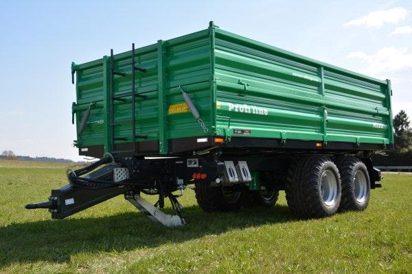 Traktoranhänger, WÖZ Anhänger, A150, 15000 kg, starker Tandem-Dreiseitenkipper, 3S-Kipper, Zweiachser, Kipper, Kippanhänger für Traktoren 2