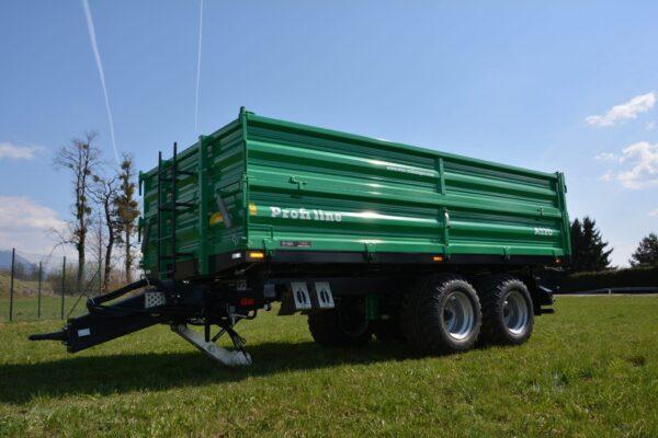 Traktoranhänger, WÖZ Anhänger, A150, 15000 kg, starker Tandem-Dreiseitenkipper, 3S-Kipper, Zweiachser, Kipper, Kippanhänger für Traktoren 1