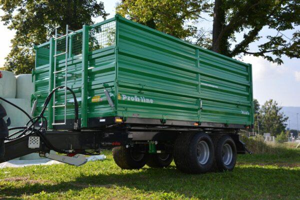 Traktoranhänger, WÖZ Anhänger, A150, 15000 kg, starker Tandem-Dreiseitenkipper, 3S-Kipper, Zweiachser, Kipper, Kippanhänger für Traktoren 7